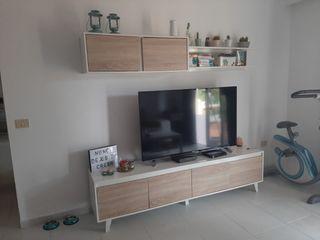 conjunto de muebles de salon