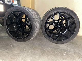 Ruedas 20 MRR 228 y Pirelli P-Zero