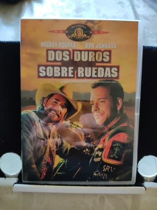 Dos duros sobre ruedas. DVD. Película.