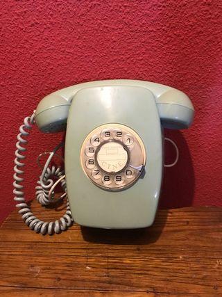 Teléfono antiguo de rueda ctne