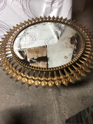 Espejo bronce 80€