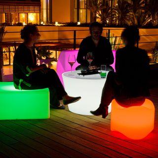 Muebles terraza discoteca