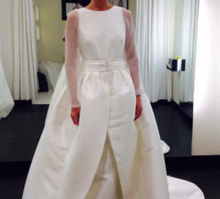 Vestido de novia sin estrenar de Rosa Clará