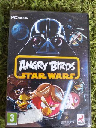 angry birds, star wars. juego pc precintado.