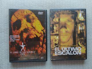 Pack 2 Peliculas de Miedo DVD