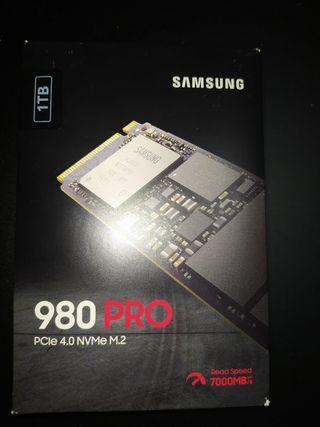 Disco M2 Samsung 980 Pro 1000 gb nuevo