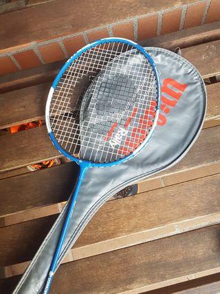 Dos raquetas de bádminton