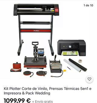 Plotter + Plancha +Impresoras