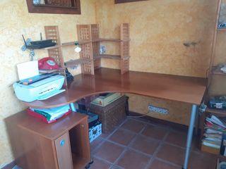 Mesa Escritorio Esquinera +cajon