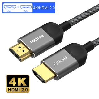 QGeeM 4K HDMI Cable HDMI 2.0