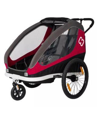 Remolque bicicleta / cochecito Hamax niños