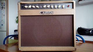 Amplificador Carvin Vintage Tube y Flight Case