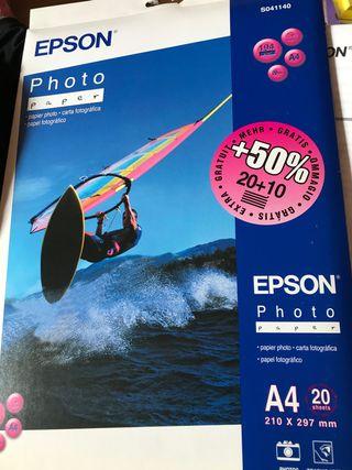 Papel fotográfico Epson