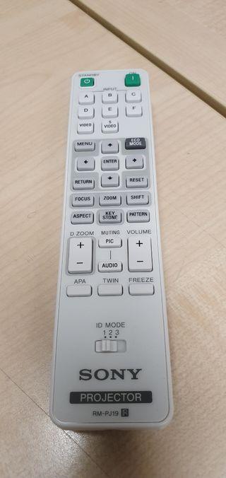 mando a distancia proyector Sony