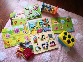 Lote de jueguetes para niños y bebés