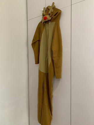 Disfraz de reno talla S de adulto