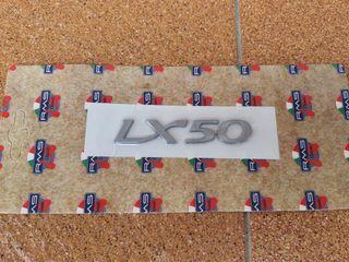 Pegatina en Relieve Plástico Vespa LX 50