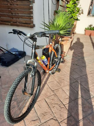 bicicleta BH OVER X 26 pulgadas.