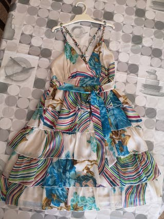 Vestido veraniego de gasa