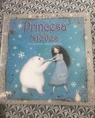 libro la princesa de las nieves