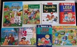 Lote 8 libros infantiles