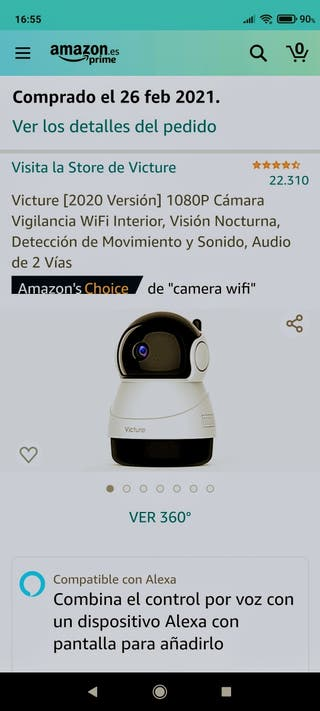 cámara de vigilancia Victure