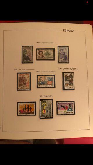 Colección sellos
