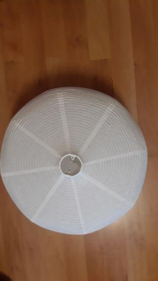 lampara techo papel ikea