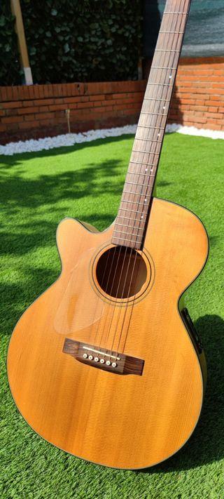 Guitarra Acústica (ZURDO) año 1999.