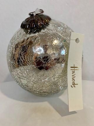 Bola de árbol de navidad Harriod's a estrenar