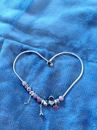 Collar Precioso de Pandora y 12 charms