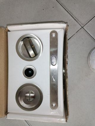 1 unidad de puerta de cristal deslizante para ventana Equickment estilo gancho de aleaci/ón de zinc Cerradura de puerta corredera para puerta corredera de furgoneta