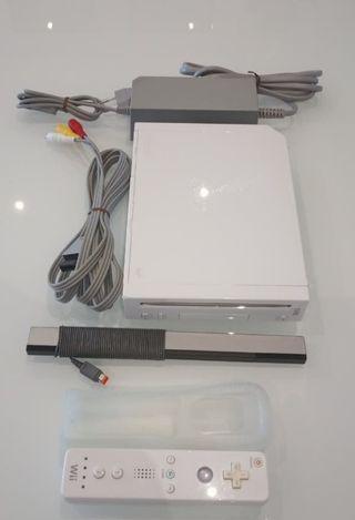 Consola Wii Blanca compatible con gamecube
