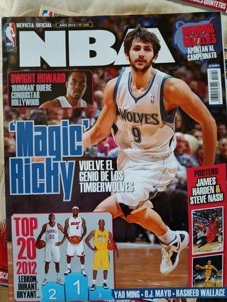 Revistas NBA