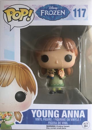 Funko Pop Vaulted Young Anna Frozen