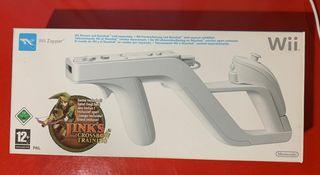 Pistola Wii Zapper.