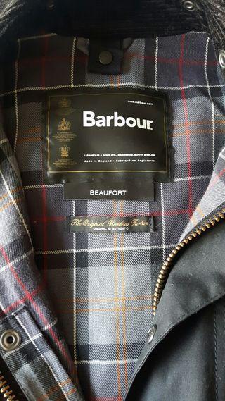 Barbour Beaufort negro c38 de 2019