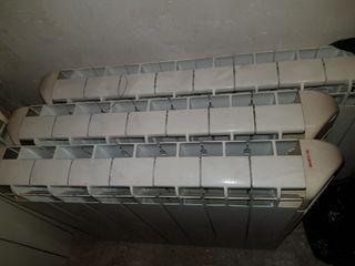 4 radiadores de calor azul
