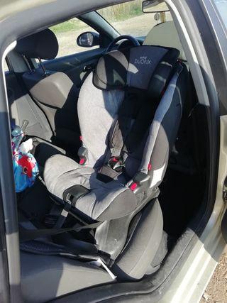 Silla coche niño segura a contra marcha