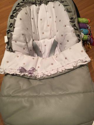 Preciosa funda saco maxicosi grupo 0 bebé