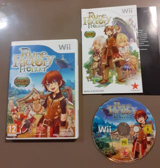 Rune Factory Frontier para Wii. completo