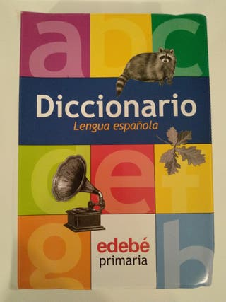 Diccionario Lengua Española Edebe Primaria.