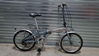 Bicicleta plegable de aluminio Monty f19.