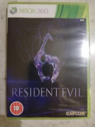 XBox 360 Resident Evil 6. Nuevo. Precintado