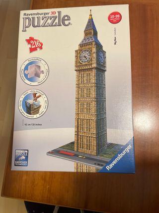 Puzzle Big Ben 3D.