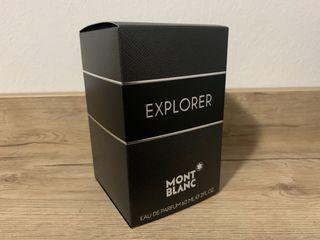 Caja vacía montblanc explorer
