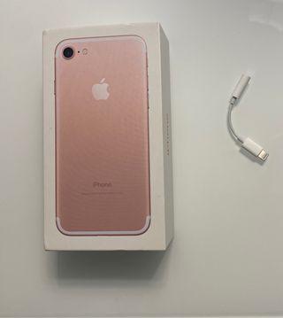 Caja iPhone y Adaptador Lightning Apole