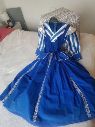 Precioso disfraz de princesa, hecho a mano