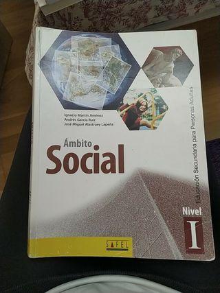 Libro ambito social nivel 1