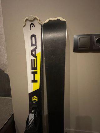 Esquís marca Head sin uso sky